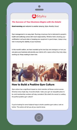 Newsletteremailmarketingexample